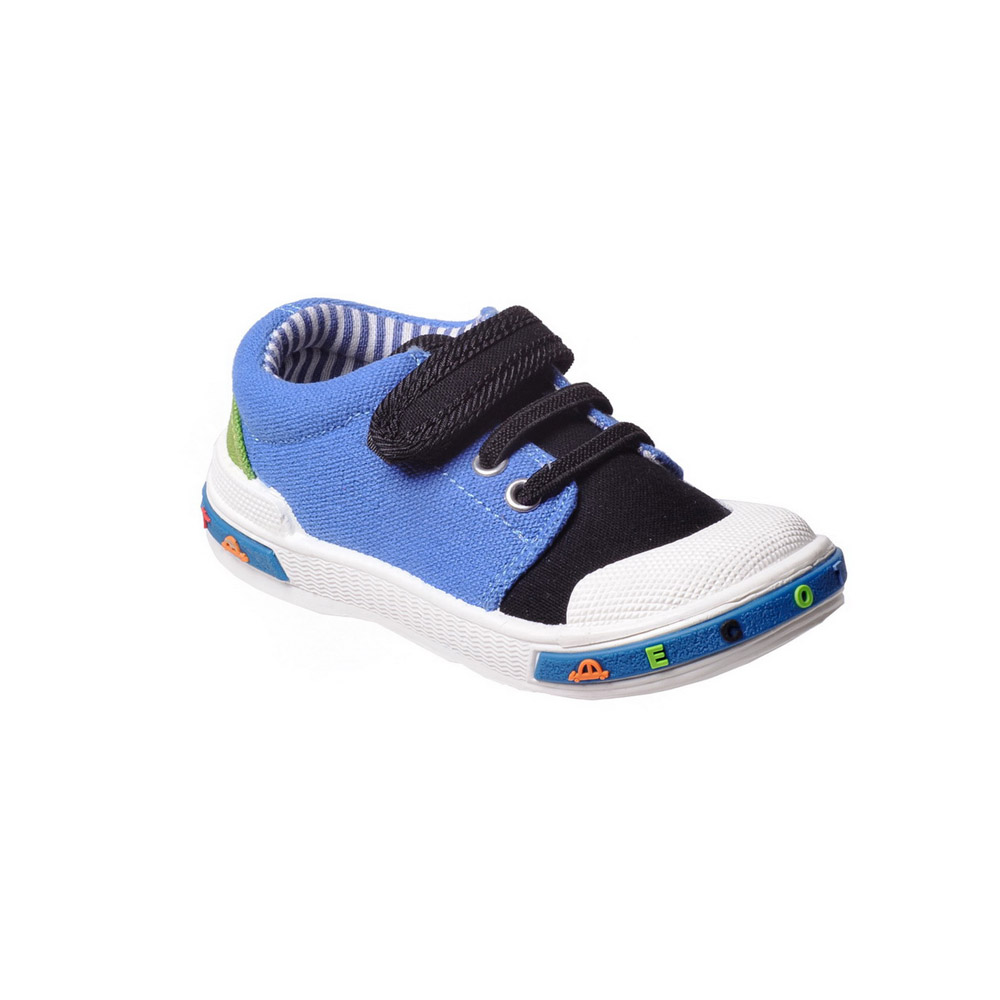 Фото Baby Casual Shoes ZEBRA for baby boys 1-083TF high top sneakers gym shoes