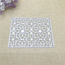 Julyarts Square Grid Metal Cutting Die Stencil for Scrapbooking Photo Album Embossing DIY Card Making Crafts Cut