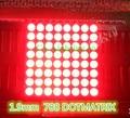 Venda quente 8x8 8*8 Mini Dot Matrix Display LED Tubo Digital de Ânodo Comum Vermelho 16-pin 20mm x 20mm 1.9mm DIY Kit Eletrônico