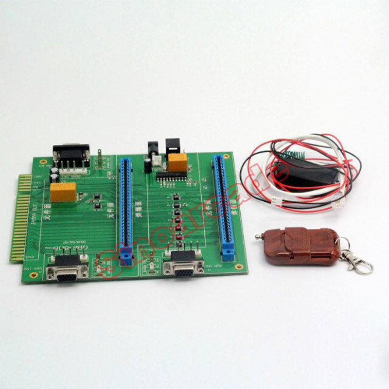 Hot New Arcade MAME Game 2 in 1 Multi JAMMA Switcher PCB borad with remote control and romote receiver new arrival free shipping game elf 750 in 1 jamma multi game pcb can deal with cga