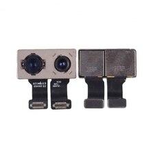 цена на LEOLEO 1pcs/lot Back Camera Module Rear Main Lens For iPhone 7 Plus 7+ 5.5'' With Sensor Proximity Flex Cable Replacement