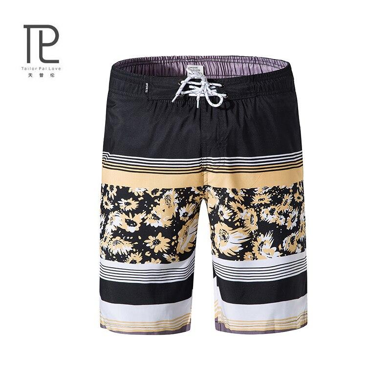 Brand Men   Board     Shorts   USA Beach   Shorts   Swimwear Swimsuits Men's Bermuda Quick Drying Print Plus Size Boardshorts #v99