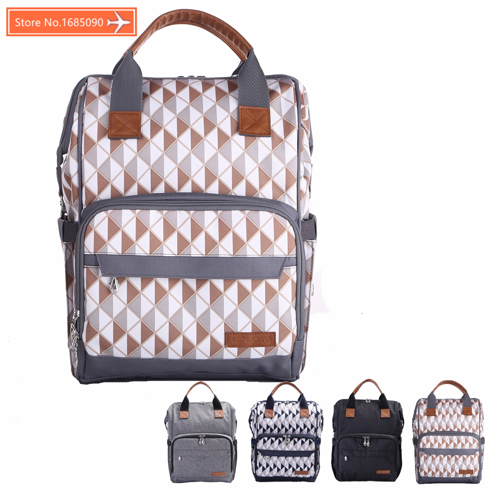 Maternity Backpack Diaper Bag Mommy Baby Changing Nappy Bags Baby Stroller Waterproof Bag Travel Backpack Bolso Maternal 163