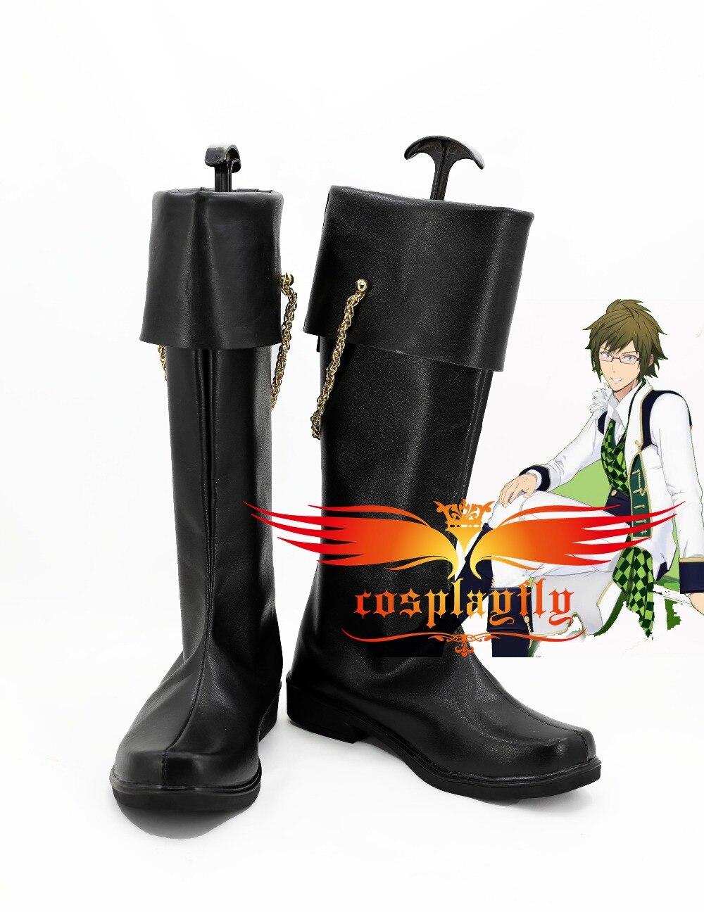 Mobile Game Hand Tour IDOLiSH7 Yamato Nikaido Cosplay Shoes Boots Custom For Adult Christmas Costume  3049