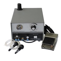 Pneumatic Engraving Tools graver max with 2 handpieces for jewelry making tools and equipment 220V , 50/60hz
