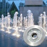 6W 18W Swimming Pool Landscape Lamp LED Underwater Light 24V Pond Underground Lamp White/Warm White