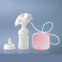 Automatic Milk Pumps Kit Electric Breast Pump Natural Suction Enlarger Feeding Bottle USB Breast Milksucker BM