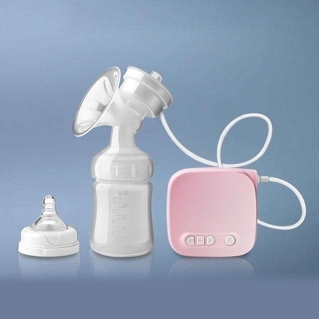 Otomatis Milk Pompa Perlengkapan Elektrik Breast Pompa Alami Hisap Pembesar Feeding Bottle USB Payudara Milksucker BM
