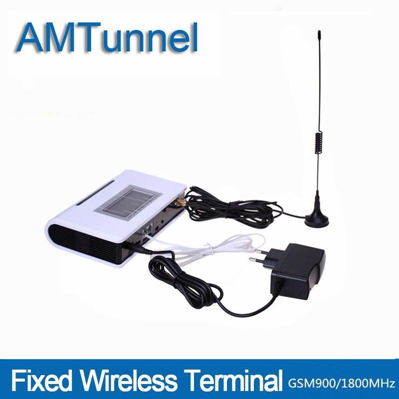 GSM Terminal Fixe GSM Téléphone Telefono fijo 900 1800GSM Fixe Sans Fil Téléphone avec LCD pour téléphone de bureau PBX PABX