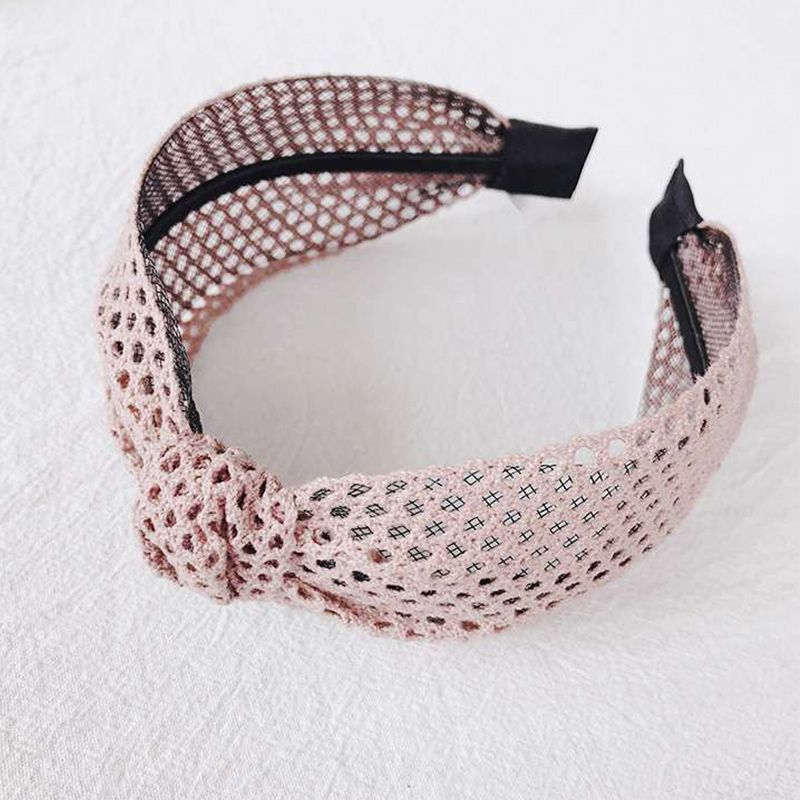 2019 New Simple Knotted Wide Hairband women girls hair head hoop band accessories Lace headband female Holder   headwear   headdress