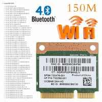 Tablet-802.11b/g/n WiFi Bluetooth 4,0 Drahtlose Hälfte Mini PCI-E Karte Für HP Atheros QCWB335 AR9565 SPS 690019 -001 733476-001