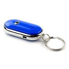 Capteur de sifflet intelligent pour clé blanche, 1 pièce, porte-clés, son, claquettes de sifflet, localisateur, clé perdue, #5