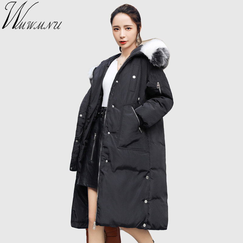 Wmwmnu Women Parkas Winter Ladies jacket thicken coats faux fur collar big size outerwear long Cotton Padded Female Coat Parka 2015 winter jacket women cotton padded jacket women fur collar ladies winter coat thickening outerwear long denim parkas h4451