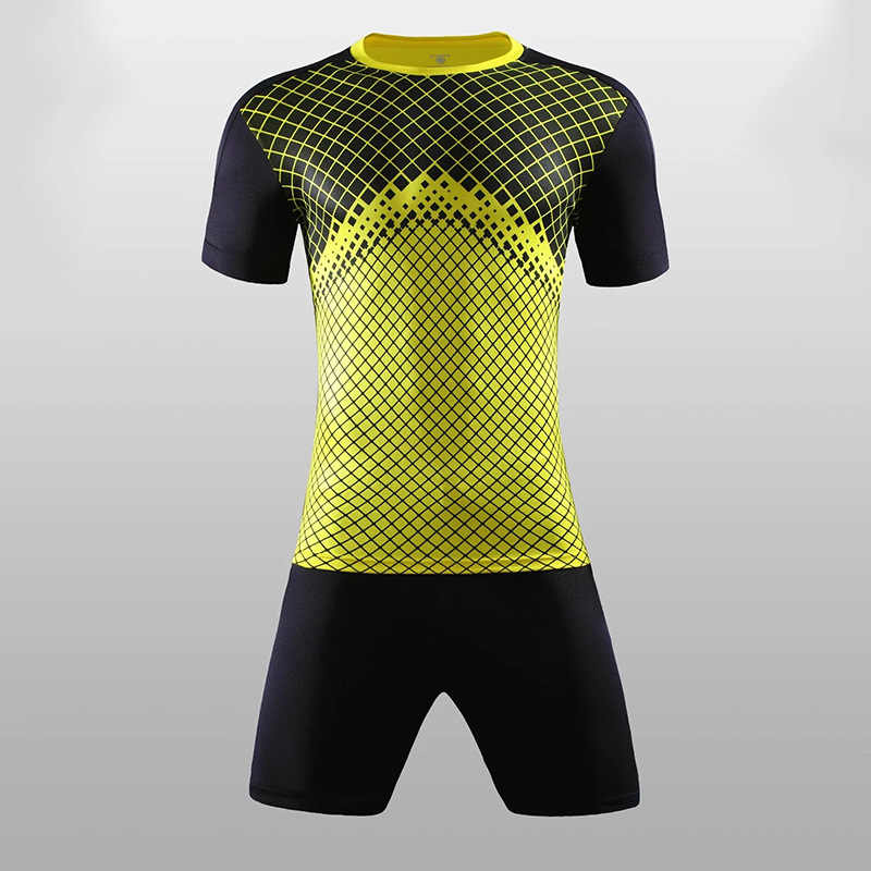 d89f97a9d ... 2018 - 2019 Soccer Jerseys & shorts Blank style Soccer uniform  short-sleeved football training ...