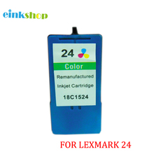 1pcs For Lexmark 24 Color Ink Cartridge for X3530 X3550 X4550 X4530 Z1420 lexmark ink cartridge