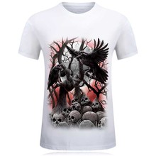Cool Dog Design Print 3d T Shirt, O-neck For Men