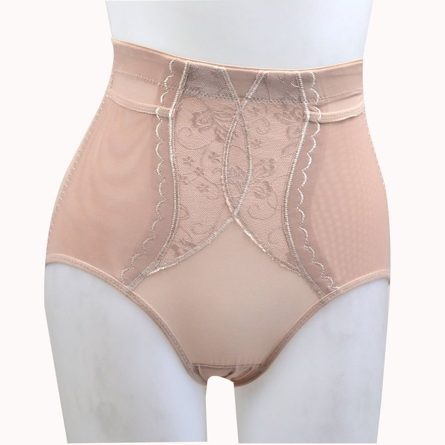 e2e5c45fe121f Free Shipping Mid waist thin abdomen drawing butt-lifting panties body  shaping pants shorts V027