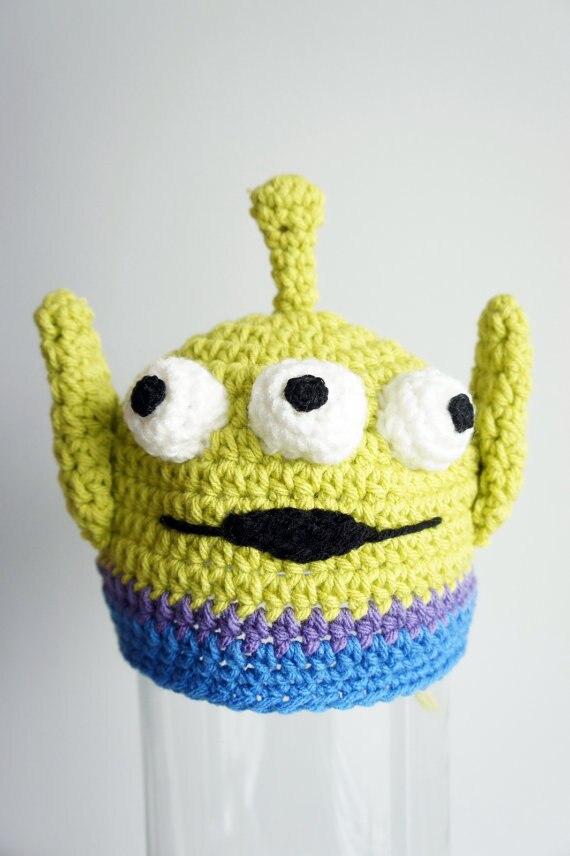 Toy Story Extranjero sombrero, Monster Sombrero, ganchillo Del Bebé ...