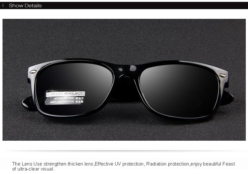 4ec29ade731d MERRY'S Men Polarized Sunglasses Classic Men Retro Rivet Shades ...