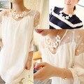 Women's Sweet Korean Style White Daisy Flower Chain Lady Girl Necklaces & Pendants   88 KQS