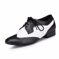 Brand Plus Size Men Dance Shoes Modern Men S Ballroom Latin Tango Dance Shoes Genuine Leather