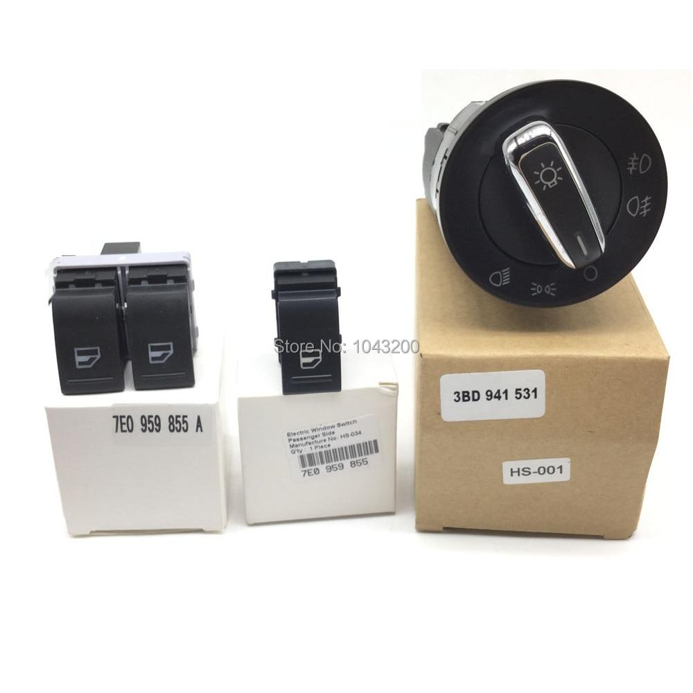3BD941531 새로운 전원 전기 헤드 라이트 창 제어 - 자동차부품 - 사진 6