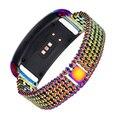 Caliente-venta 18 cm de acero inoxidable pulsera smartwatch smart watch band correa para samsung gear fit2 sm-r360 reemplazo de bandas regalos