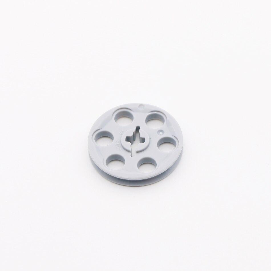 4x Lego ® 4185 Technic Wedge Belt Pulley Guide Pulley Belt Wheel New Dark Grey NEW