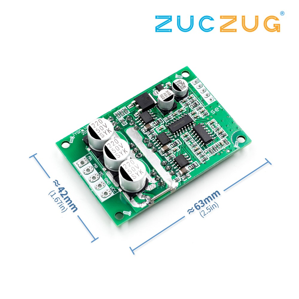 DC 12V-36V 500W PWM Brushless Motor Controller Hall Motor Balancing Automotive Balanced BLDC Car Driver Control Board ModuleDC 12V-36V 500W PWM Brushless Motor Controller Hall Motor Balancing Automotive Balanced BLDC Car Driver Control Board Module