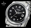 Classic Business Designer Men Elegant Dress Watches Automatic Self Winding 316L Bracelet Clock Luminous Calendar Relojes NW4759