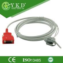 2 шт./лот Masimo Радуга кабель для новорожденных Spo2 Сенсор с 20 контактов красный разъем, 3 м