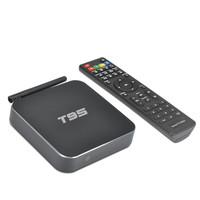 S905 T95 TV BOX Amlogic Quad Core Andorid 5.1 1 GB 8 GB Zestaw dekodery Miracast WiFi BT 4.0 KODI Sport ścienne IPTV Media Player