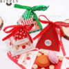 10 PCS/Set Merry Christmas Candy Box Bag