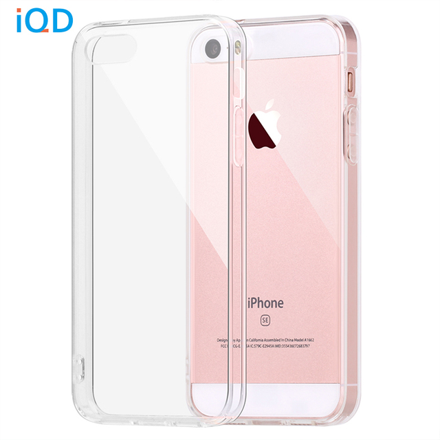 Iqd For Le Iphone Se Case Per Cover Shock Absorption And Anti Scratch Clear Back 5 5s Cases