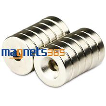 10pcs Small Round NdFeB Neodymium Disc Magnets Dia 15mm x 4mm hole 4.2mm N50 Super Powerful Strong Rare Earth NdFeB Magnet 50pcs pack dia 12 4mm hole 3mm strong neodymium magnet round n50