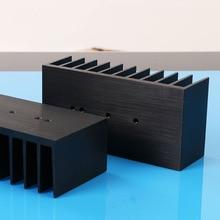 1 pièces dissipateur thermique en aluminium épaississant radiateur radiateur aileron de refroidissement pour LM1875 3886 TDA7293 amplificateur de puissance