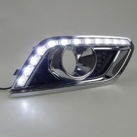 Auto part car accessory daytime running light led drl for B/UICK E/ncore 2013 2015 yellow turn signal