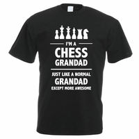 Tee Shirts Online Premium O Neck Short Sleeve I M A Chess Grandad Grandparents Father S