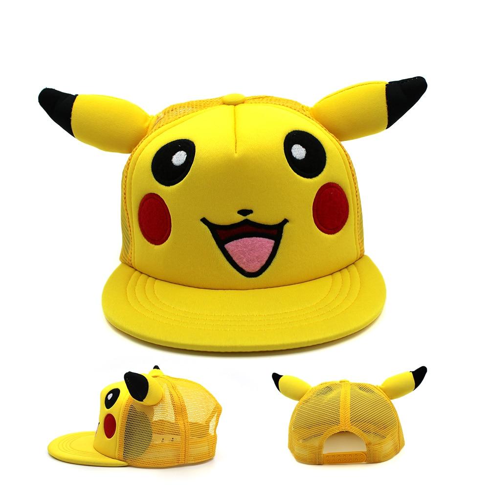 Novelty & Special Use Costumes & Accessories Japanese Anime Adlut Kids Pokemon Mimikyu Plush Hat Cosplay Cartoon Warm Cap Cartoon Trainer Pokemon Go Cute Pikachu Plush H Discounts Price