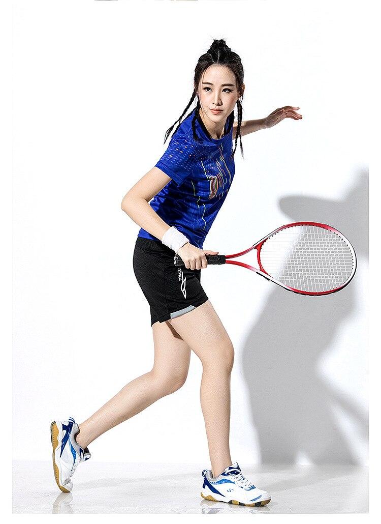 2018 New Badminton shirt , Tennis shirts Men / Women, Quick dry Tennis tshirts ,Table Tennis shirts , Ping Pong  sports shirt 2