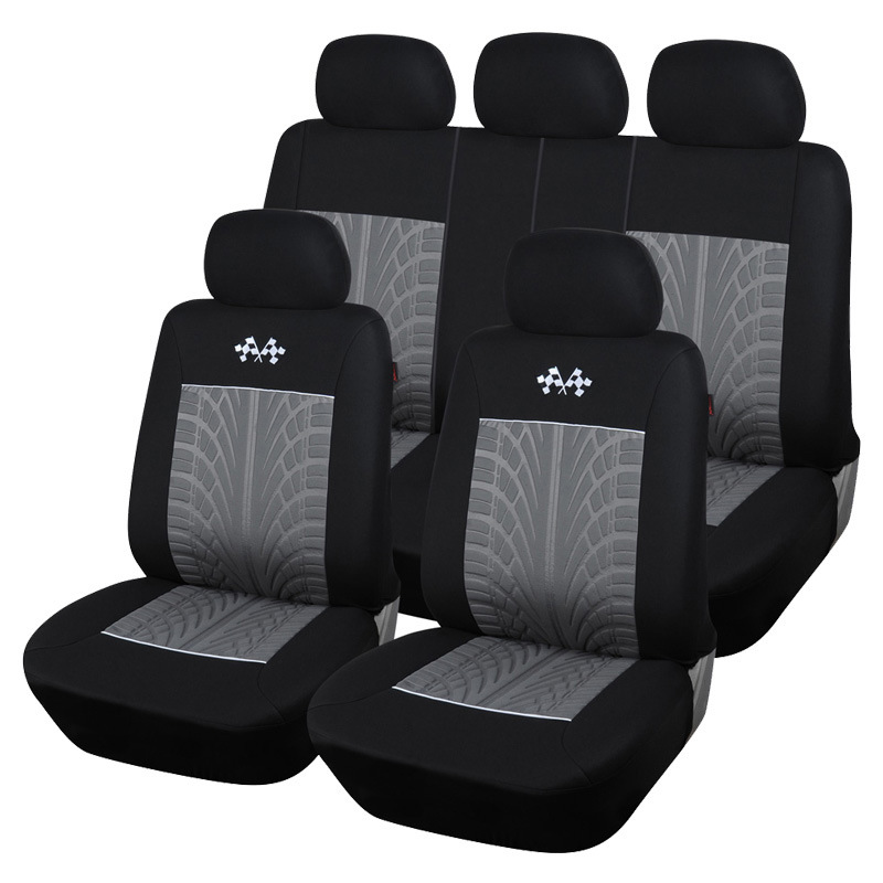 High Quality Car Seat Covers 3D Lines Car Styling Universal Accessories For lada Nissan Almera Opel