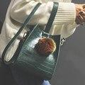 Роскошные Аллигатор Женщины Посланник Сумки Женская Мода Плеча Сумку 2016 Новый Хорошее Качество Женский Креста Тела Сумка Bolsa