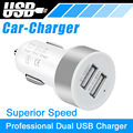 Double USB car Charger for car available for all kind of phone like iphone, xiaomi, huawei phoneS