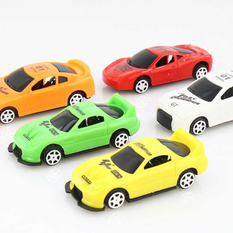5 Pcs/set Q version cute car model toys for boys children gift mini track cars toy kids baby educational toys