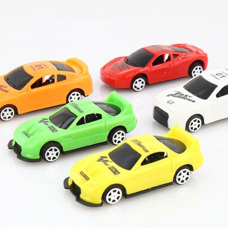 5 Pcs/set Q Version Cute Car Model Toys For Boys Children Gift Mini Track Cars Toy Kids Baby Educational Toys