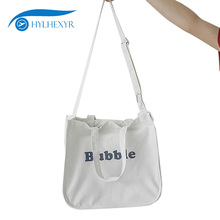 Hylhexyr молния и сумки с застежкой шикарная сумка на плечо Женская Холщовая Сумка с буквенным принтом рюкзак сумки для покупок регулируемые плечевые ремни