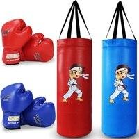 New Kids Children Training MMA Kung Fu Kids Kick Boxing Bag Hanging Muay Thai Punching Sandbag