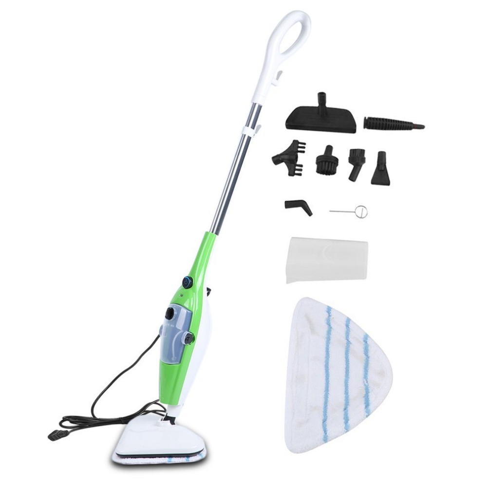 1200W 10 In 1 Multifunctional Steam Mop Cleaner Portable Cleaning Tool Daily Household Kitchen Retractable Sweeping Appliances