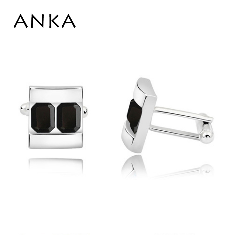 2018 Sale Jewelry Free Shipping High quality Men's Cufflinks Cuff For Mens Wedding Crystal Crystals from Austrian #87670