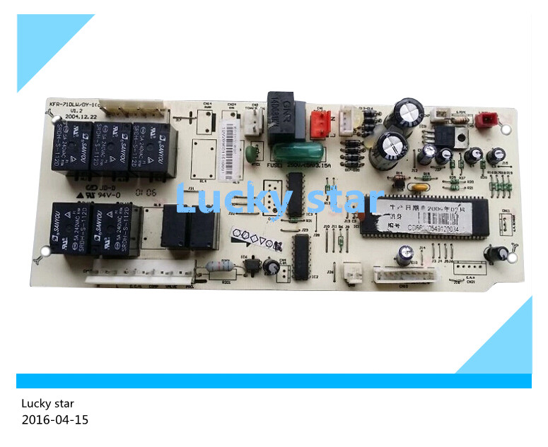 95% new for Air conditioning computer board circuit board KFR-71Q/SY KFR-71DLW/DY-1(d) good working 95% new good working for midea air conditioning display board remote control receiver board plate kfr 26g dy gc e2 d 01